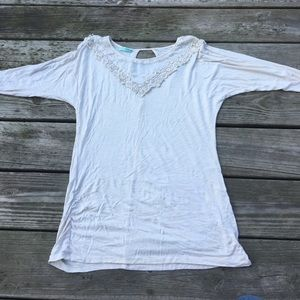 Maurice's cream colored top